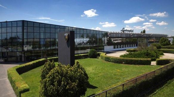 Sede da Lamborghini em Sant'Agata Bolognese, Itália